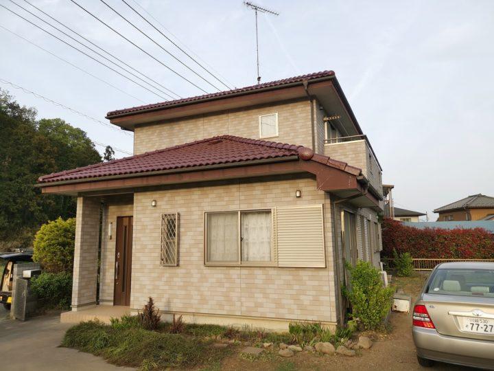 毛呂山町O様邸 屋根塗り替え工事