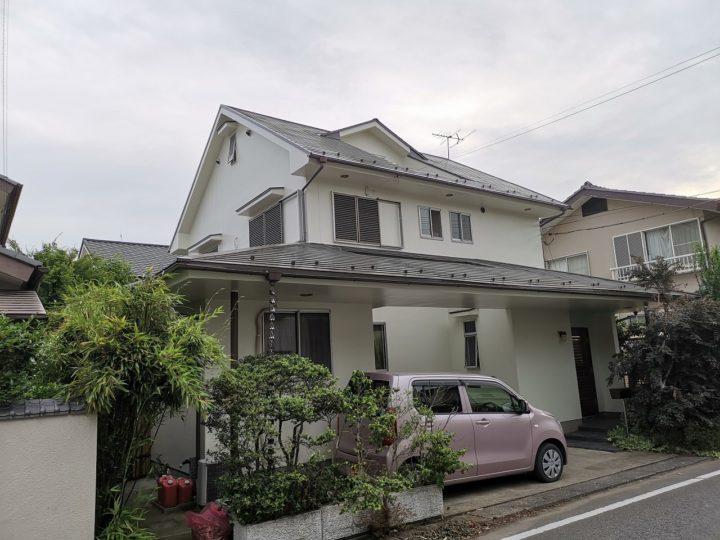 坂戸市 M様邸 外壁・屋根塗り替え工事