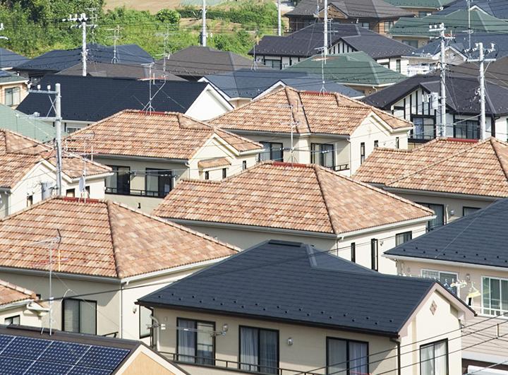 高級フッ素屋根塗装塗装