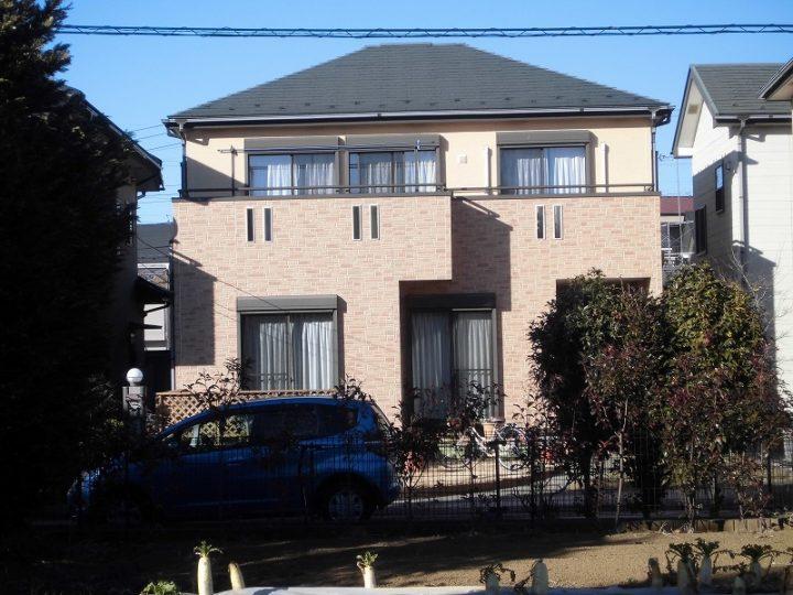 川越市的場T様邸 屋根塗装 外壁塗装工事