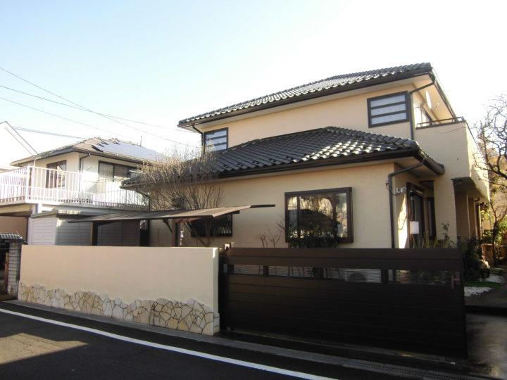 鶴ヶ島市外壁塗装 T様邸