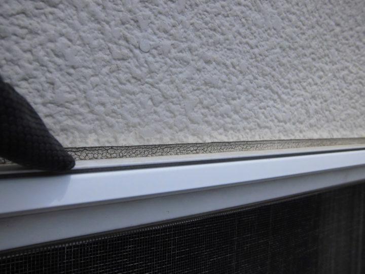 窓天板シーリング劣化