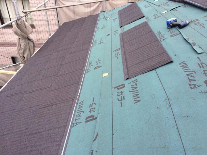 屋根新規張り
