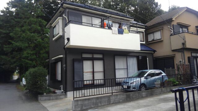 川越市中台T様邸 外壁塗装 屋根塗装