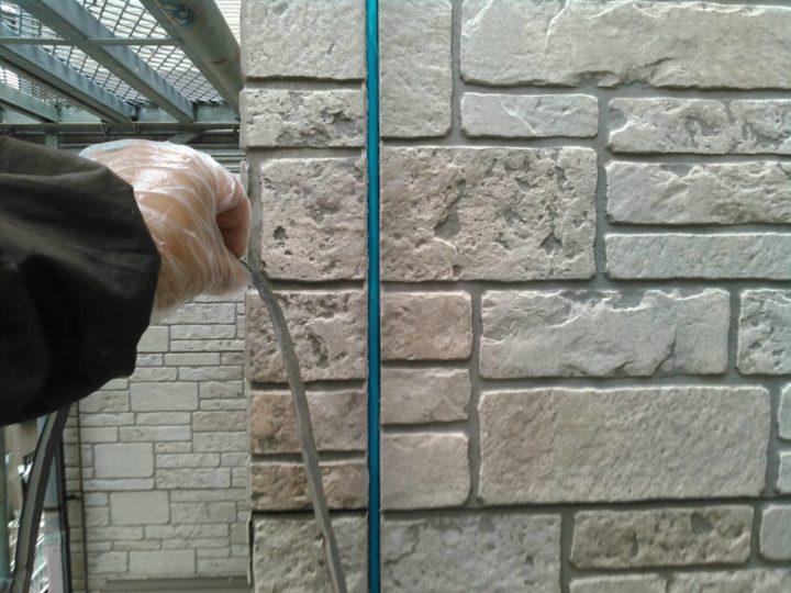 外壁シーリング打ち替え。