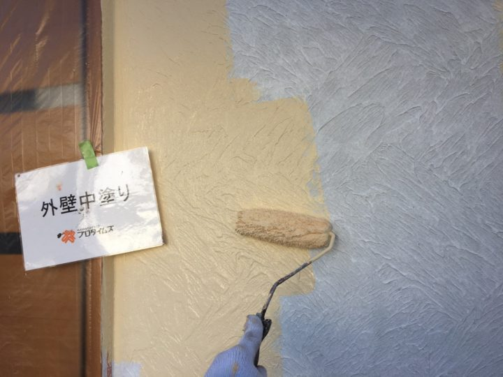 艶消しでジョリパッド専用塗料にて塗装