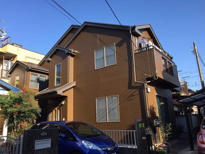 川越市外壁塗装・屋根塗装K様邸