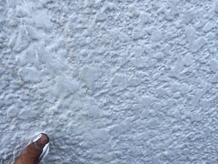 確実な修繕及び、外壁下塗り