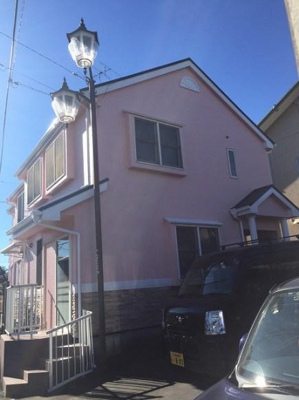 東松山市 屋根外壁塗装工事