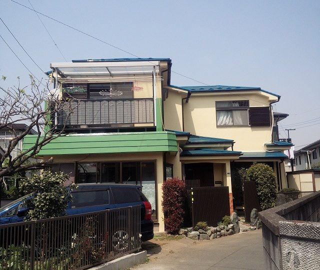 坂戸市 屋根・外壁塗装 K様邸 シリコンプラン