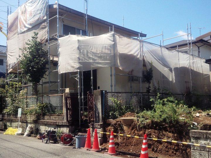 川越市霞ヶ関北O様邸屋根塗装工事