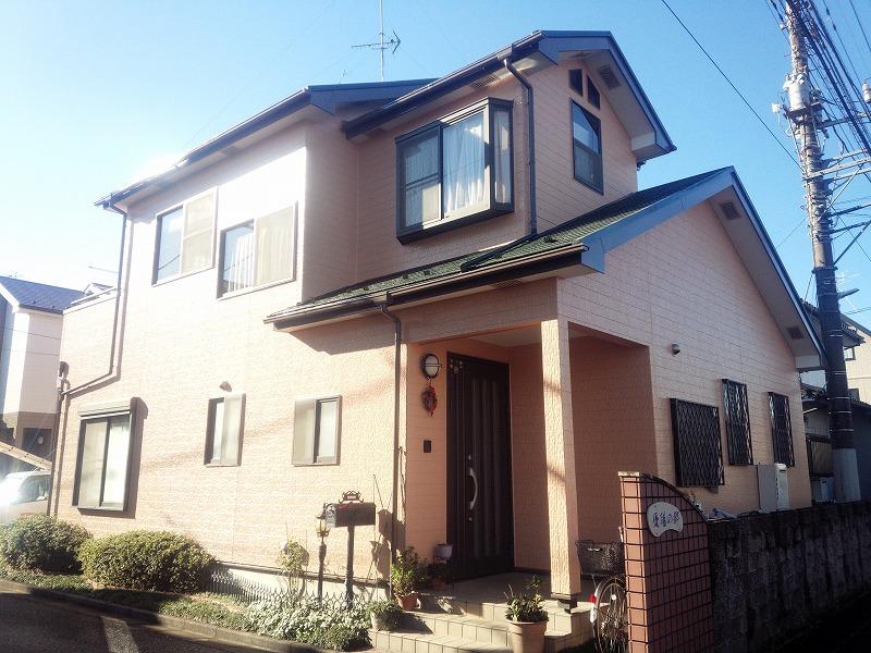 川越市外壁塗装 屋根塗装 M様邸