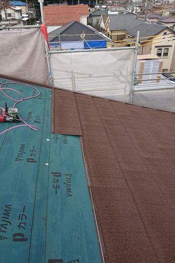 屋根金属カバー