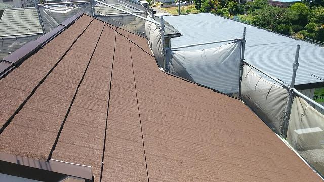 屋根カバー完了