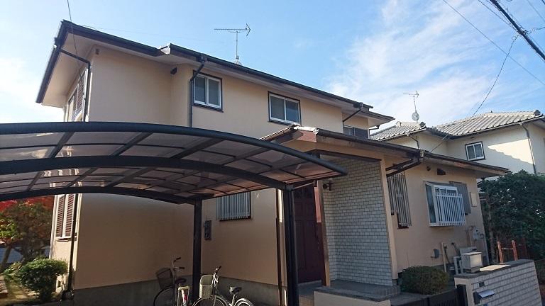 外壁屋根塗装工事 狭山市