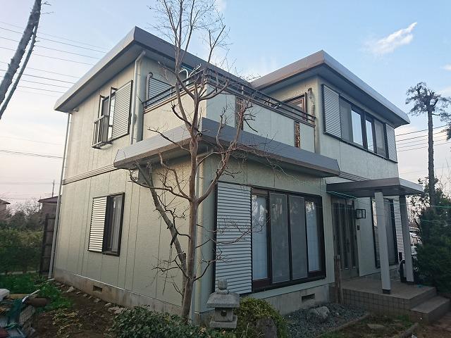 所沢市 屋根外壁塗装工事