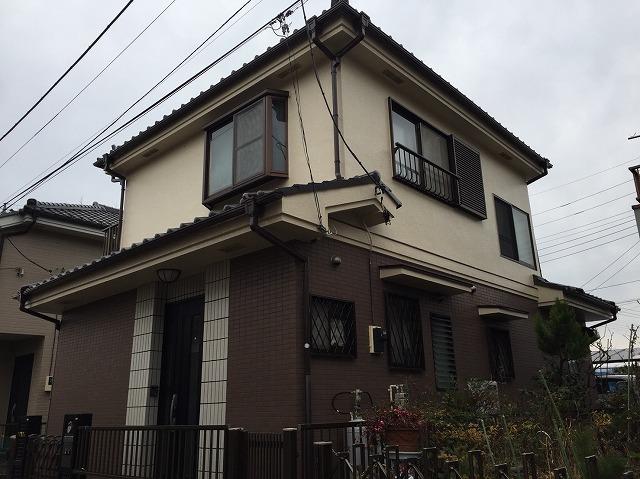 外壁塗装・屋根漆喰工事 飯能市H様邸