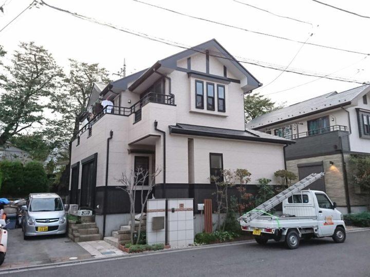 所沢市T様邸 外壁・屋根塗装工事