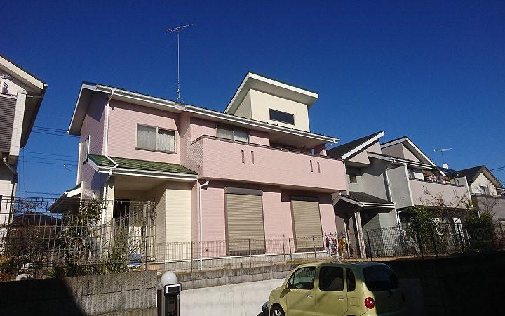 毛呂山町 屋根・外壁塗装
