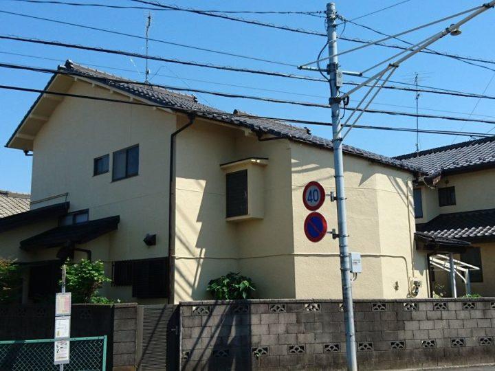 屋根工事・外壁塗装川越市Y様邸