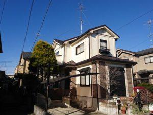 東松山市 屋根カバー・外壁塗り替え工事