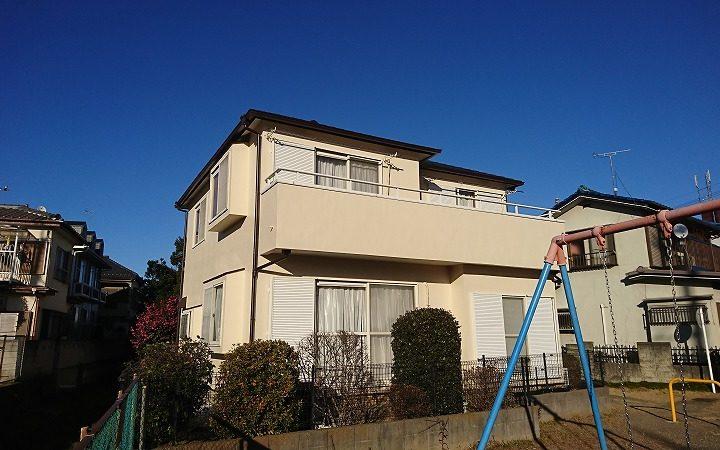 屋根・外壁塗り替え工事 川越市O様邸