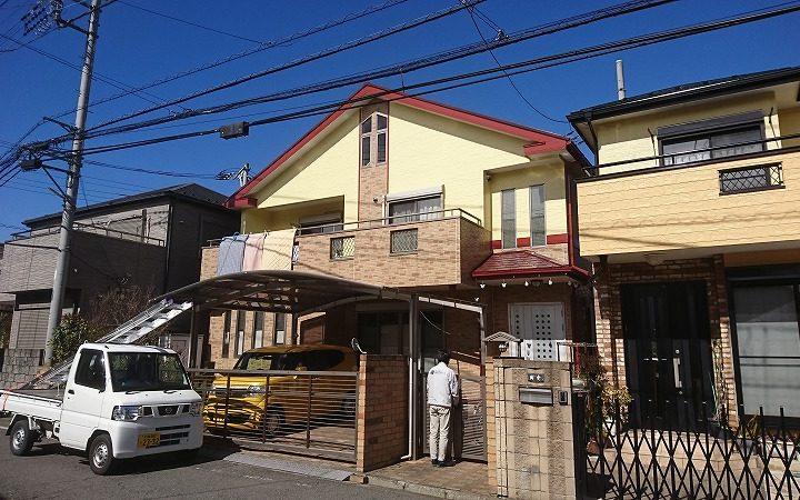 川越市T様 屋根・外壁塗装工事