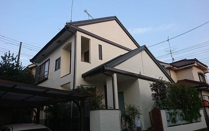 東松山市Y様 外壁塗装・屋根カバー工事