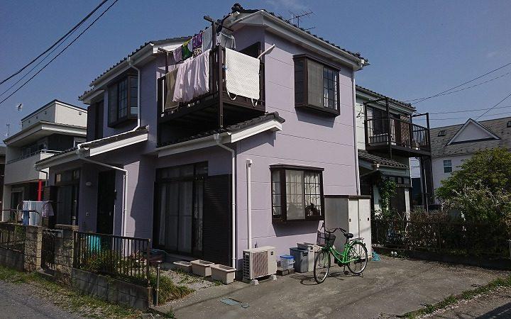 東松山市S様邸 外壁塗装