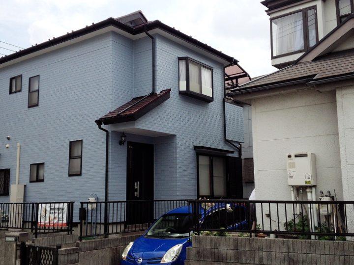 川越市新宿町外壁塗装 屋根塗装
