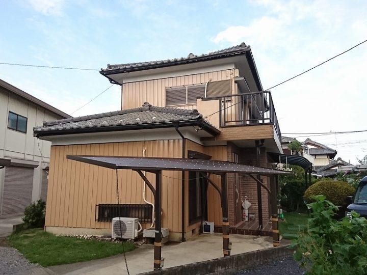 外壁塗り替え工事 東松山市S様
