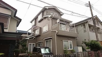 屋根葺き替え・外壁塗装工事 坂戸市Y様邸