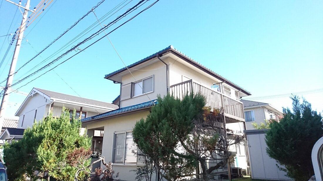 鳩山町S様屋根塗装・雨樋交換