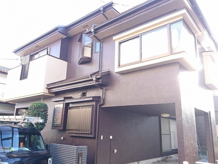 坂戸市 外壁塗装・屋根カバー工事 M様邸
