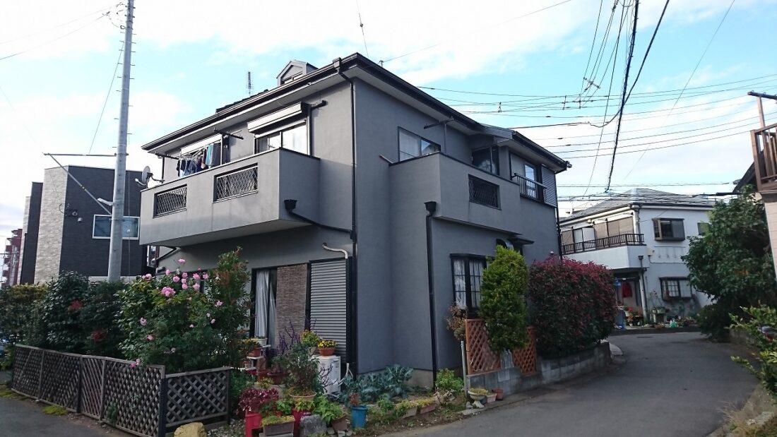 川越市屋根塗装
