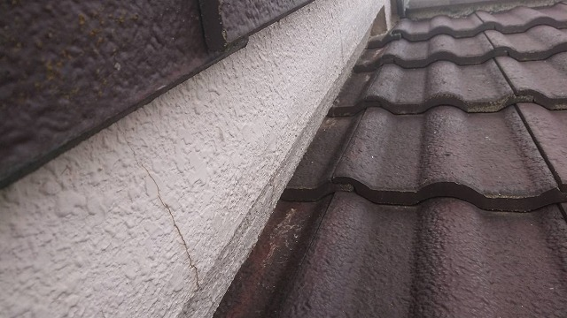 屋根塗膜剥離 経年劣化