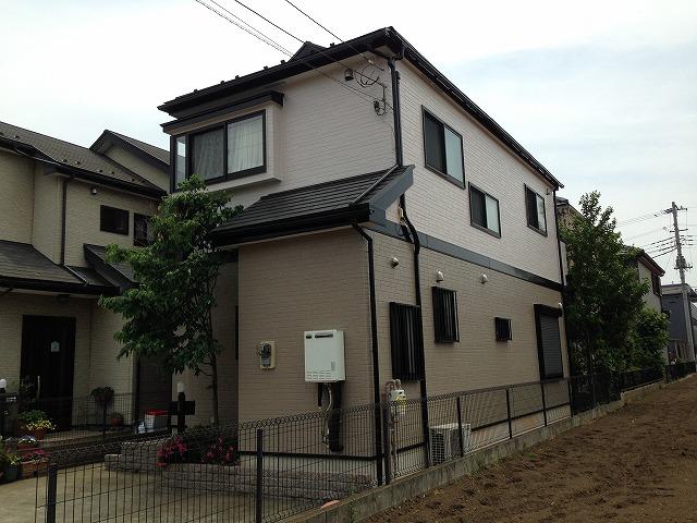 坂戸市 屋根・外壁塗装 S様邸 ハイクラスシリコンプラン
