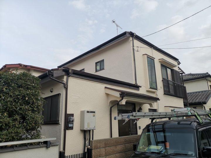 坂戸市M様 外壁・屋根 塗装工事