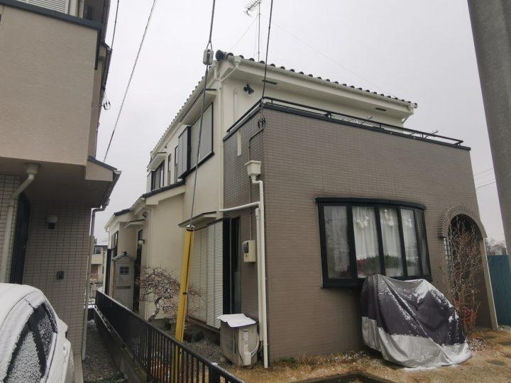外壁塗装・棟積み替え