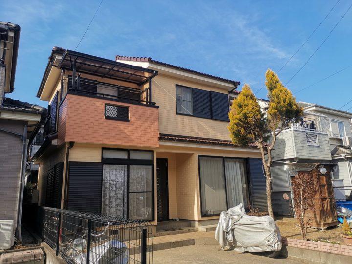 外壁塗装屋根塗装毛呂山町