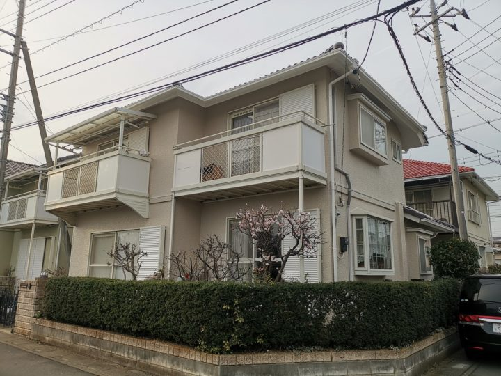 ふじみ野市A様邸 屋根・外壁 塗装工事