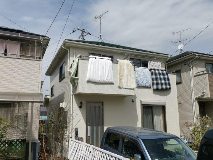 坂戸市I様邸 外壁・屋根塗り替え工事