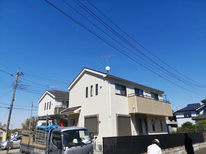 東松山市F様邸屋根・外壁塗装