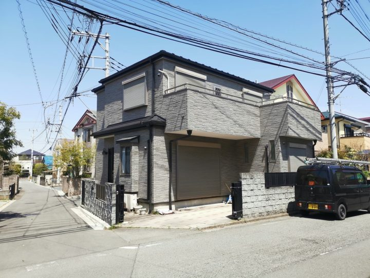 川越市Y様邸 屋根カバー・外壁塗装