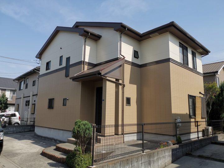 坂戸市H様邸 外壁・屋根塗装
