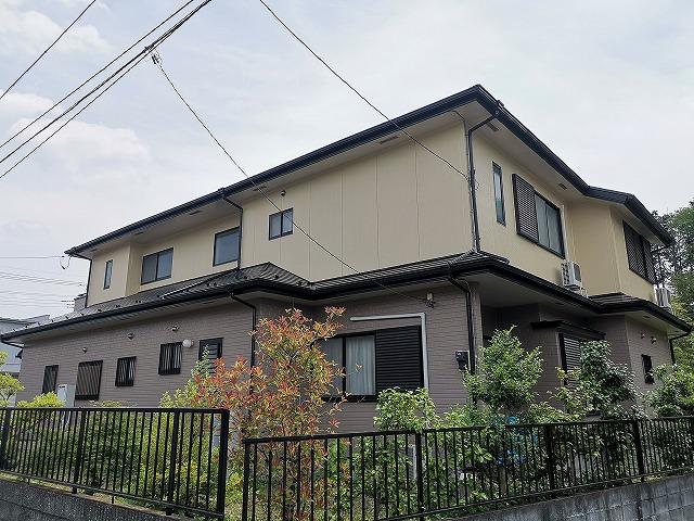屋根・外壁塗装工事 飯能市Y様邸
