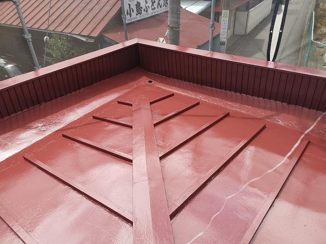 屋根塗装工事 飯能市G様邸