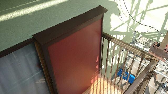 破風板・戸袋共にガルバリウム鋼板でカバーし、見た目と耐久性を大幅にUPさせました。
