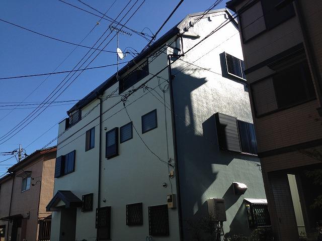 川越市 外壁塗装 屋根板金カバー工法 C様邸 プレミアムプラン
