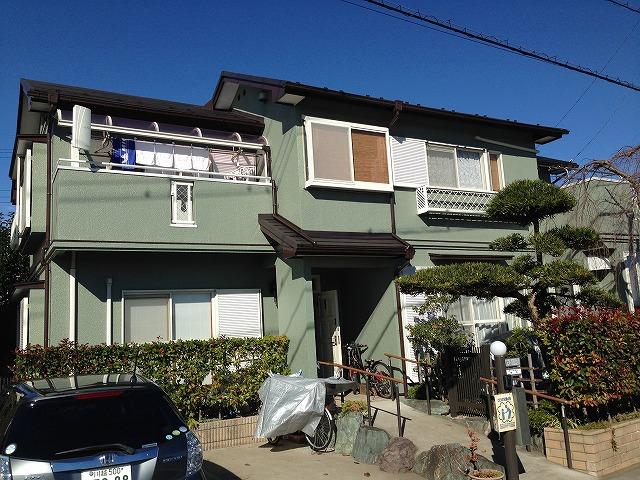 川越市 外壁塗装 屋根板金カバー工法 K様邸 プレミアムプラン